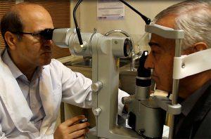 جراحی شبکیه و لیزر retina- shabakie