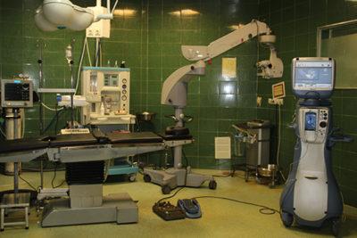 دستگاه lenzectomy مرکز چشم پزشکی سلامت غرب تهران